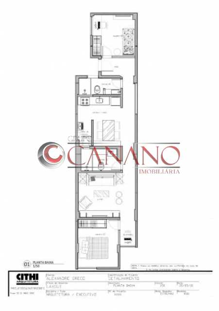 fotos-3. - Apartamento à venda Rua Real Grandeza,Botafogo, Rio de Janeiro - R$ 599.000 - BJAP20162 - 1