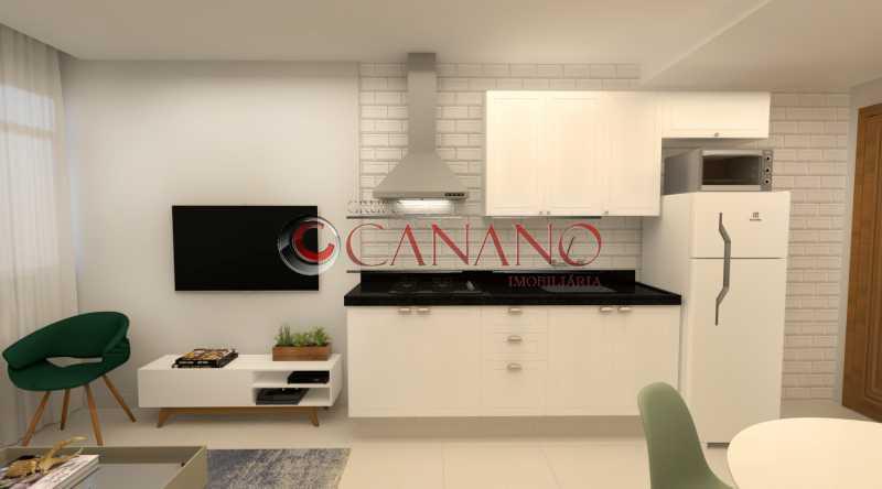 1 - Apartamento à venda Rua Real Grandeza,Botafogo, Rio de Janeiro - R$ 599.000 - BJAP20162 - 4