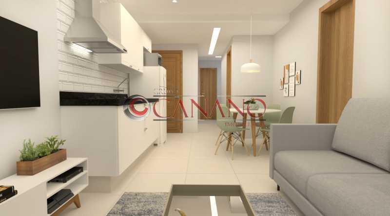 2 - Apartamento à venda Rua Real Grandeza,Botafogo, Rio de Janeiro - R$ 599.000 - BJAP20162 - 1