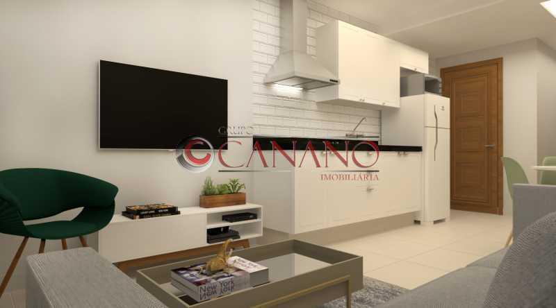 3 - Apartamento à venda Rua Real Grandeza,Botafogo, Rio de Janeiro - R$ 599.000 - BJAP20162 - 3