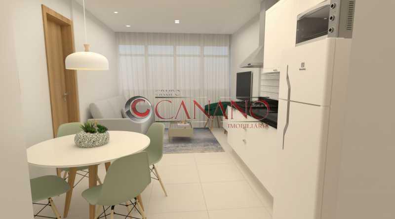 5 - Apartamento à venda Rua Real Grandeza,Botafogo, Rio de Janeiro - R$ 599.000 - BJAP20162 - 6