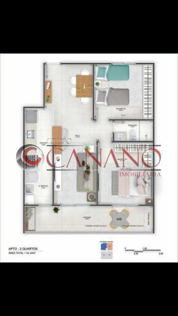 3 - Apartamento 2 quartos à venda Cachambi, Rio de Janeiro - R$ 250.000 - BJAP20181 - 4