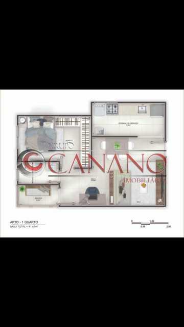 4 - Apartamento 2 quartos à venda Cachambi, Rio de Janeiro - R$ 250.000 - BJAP20181 - 5