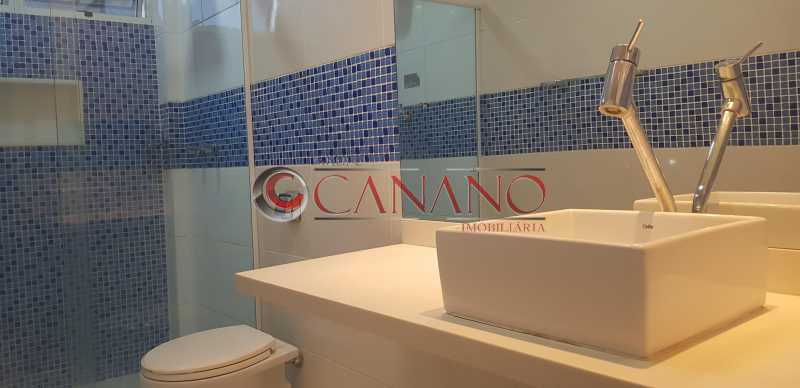 Banheiro 1 - 01 - Apartamento 3 quartos à venda Grajaú, Rio de Janeiro - R$ 359.000 - BJAP30101 - 8