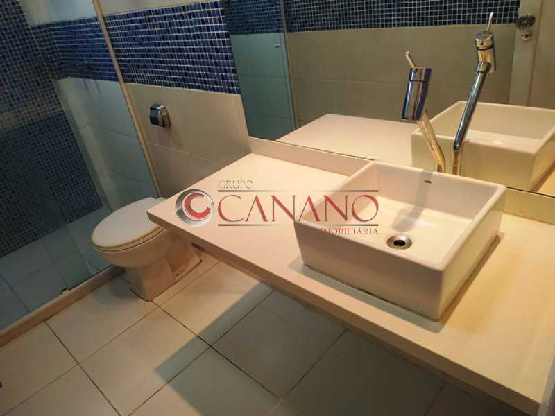 Banheiro 1 - 02. - Apartamento 3 quartos à venda Grajaú, Rio de Janeiro - R$ 359.000 - BJAP30101 - 9