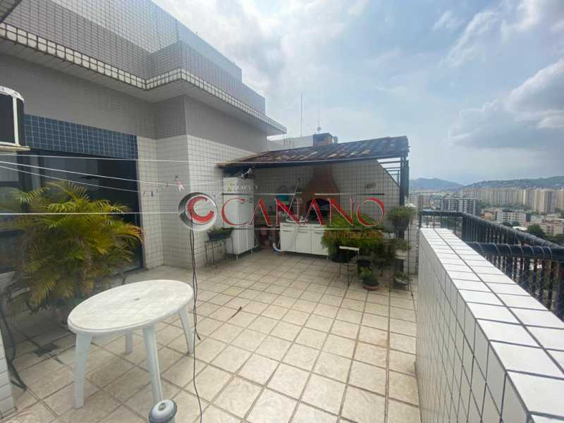 3 - Cobertura 3 quartos à venda Cachambi, Rio de Janeiro - R$ 570.000 - BJCO30024 - 1