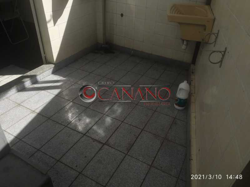 área de serviço - Apartamento à venda Rua Lins de Vasconcelos,Lins de Vasconcelos, Rio de Janeiro - R$ 250.000 - BJAP20827 - 18