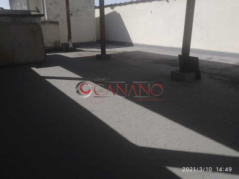terraço - Apartamento à venda Rua Lins de Vasconcelos,Lins de Vasconcelos, Rio de Janeiro - R$ 250.000 - BJAP20827 - 20
