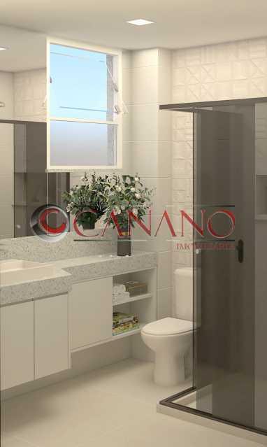 be1cedfea52aa486-BANHEIRO SOCI - Apartamento 2 quartos à venda Copacabana, Rio de Janeiro - R$ 849.000 - BJAP20846 - 15
