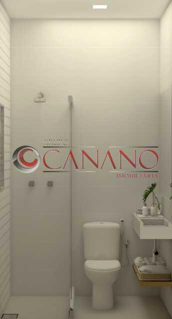 d4364ed096bac754-BANHEIRO SERV - Apartamento 2 quartos à venda Copacabana, Rio de Janeiro - R$ 849.000 - BJAP20846 - 19