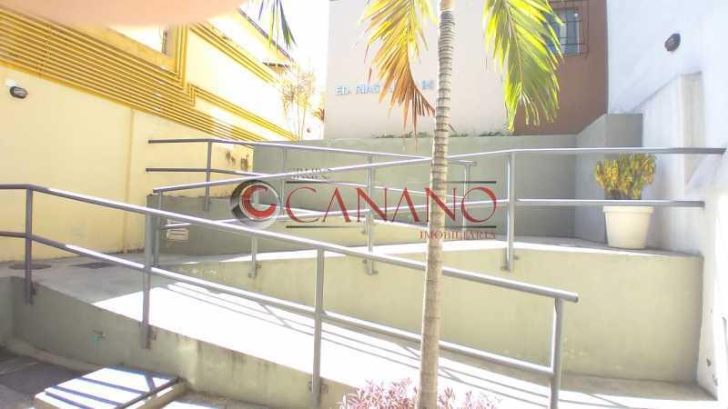 entrada - Apartamento 1 quarto para venda e aluguel Riachuelo, Rio de Janeiro - R$ 205.000 - BJAP10094 - 21