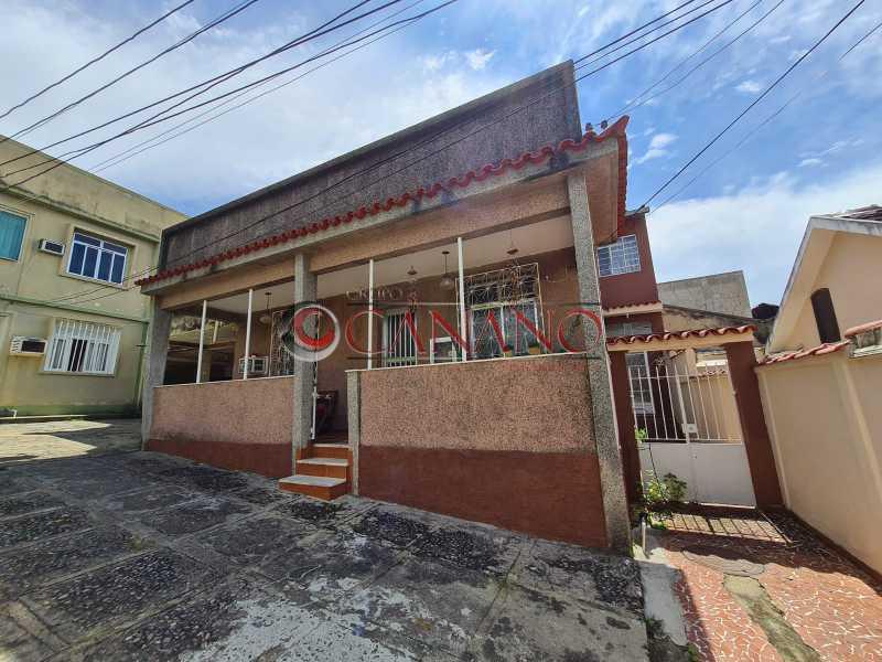 1 - Casa de Vila 2 quartos à venda Quintino Bocaiúva, Rio de Janeiro - R$ 300.000 - BJCV20038 - 1