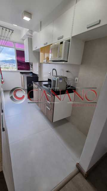 7 - Apartamento à venda Estrada Adhemar Bebiano,Del Castilho, Rio de Janeiro - R$ 360.000 - BJAP20915 - 8