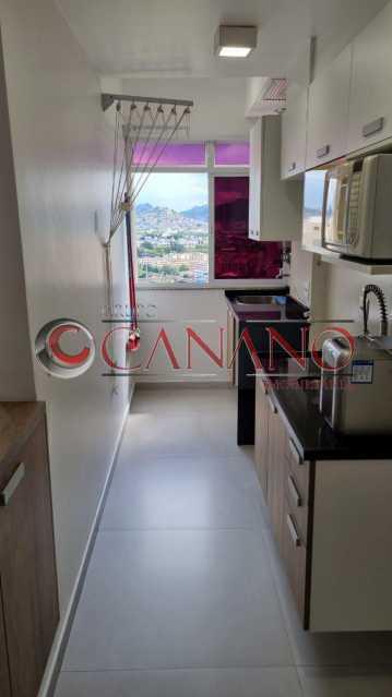 8 - Apartamento à venda Estrada Adhemar Bebiano,Del Castilho, Rio de Janeiro - R$ 360.000 - BJAP20915 - 9