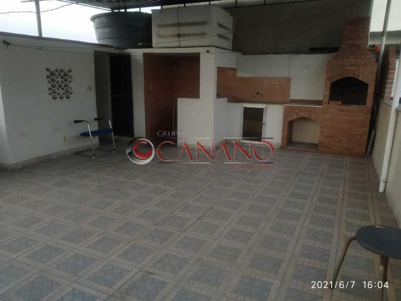 19 - Casa de Vila à venda Rua Honório,Cachambi, Rio de Janeiro - R$ 320.000 - BJCV30028 - 1