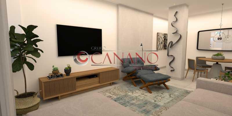 2 - Apartamento à venda Rua Visconde de Caravelas,Botafogo, Rio de Janeiro - R$ 790.000 - BJAP20934 - 3