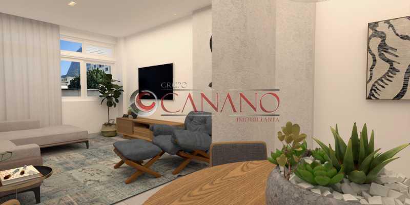3 - Apartamento à venda Rua Visconde de Caravelas,Botafogo, Rio de Janeiro - R$ 790.000 - BJAP20934 - 4
