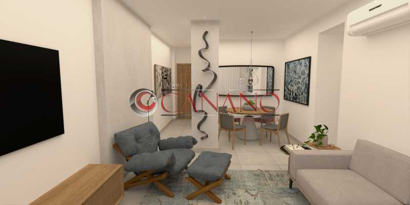 5 - Apartamento à venda Rua Visconde de Caravelas,Botafogo, Rio de Janeiro - R$ 790.000 - BJAP20934 - 6