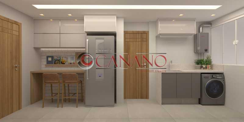 8 - Apartamento à venda Rua Visconde de Caravelas,Botafogo, Rio de Janeiro - R$ 790.000 - BJAP20934 - 9