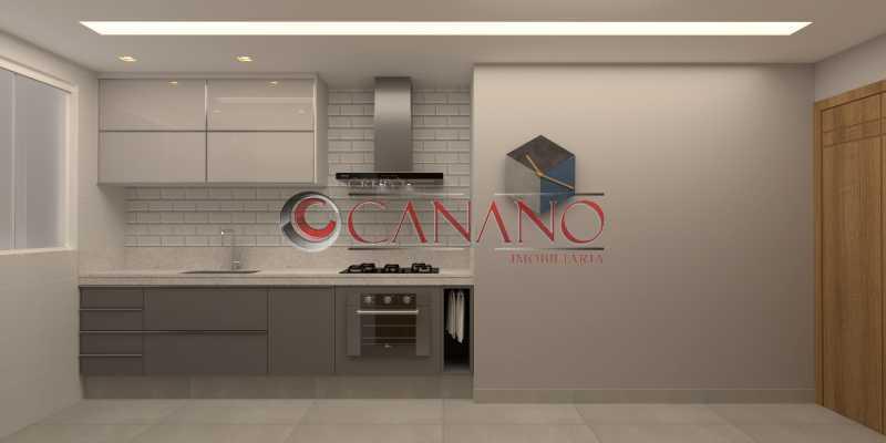 10 - Apartamento à venda Rua Visconde de Caravelas,Botafogo, Rio de Janeiro - R$ 790.000 - BJAP20934 - 11