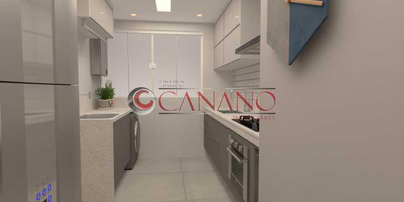 11 - Apartamento à venda Rua Visconde de Caravelas,Botafogo, Rio de Janeiro - R$ 790.000 - BJAP20934 - 12