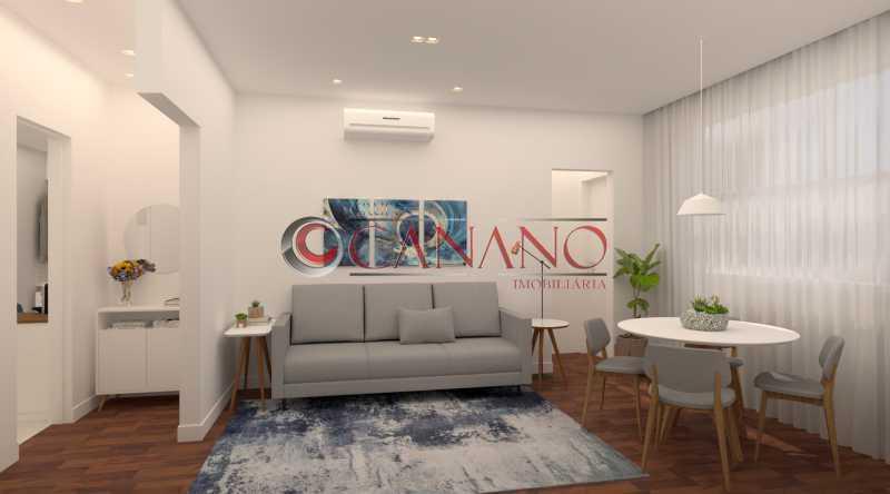 10 - Apartamento à venda Rua Décio Vilares,Copacabana, Rio de Janeiro - R$ 869.000 - BJAP20996 - 11
