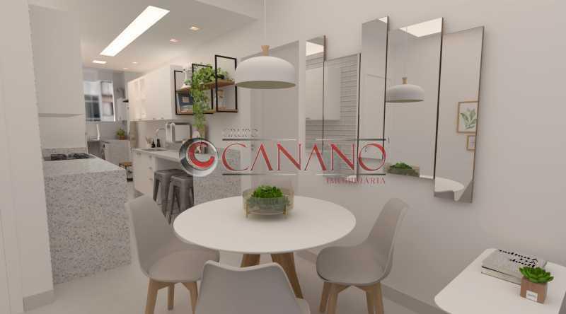 840ee9d43283aded-sala e cozinh - Apartamento à venda Rua Siqueira Campos,Copacabana, Rio de Janeiro - R$ 749.000 - BJAP21030 - 1