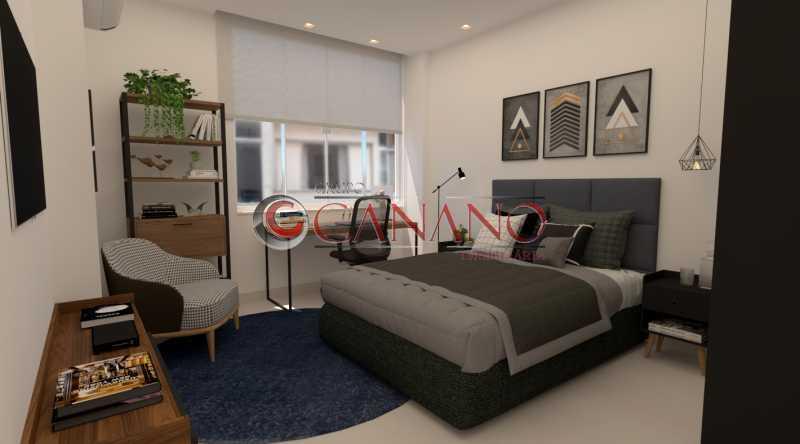 180238e380824bf6-quarto 01 1 - Apartamento à venda Rua Siqueira Campos,Copacabana, Rio de Janeiro - R$ 749.000 - BJAP21030 - 9