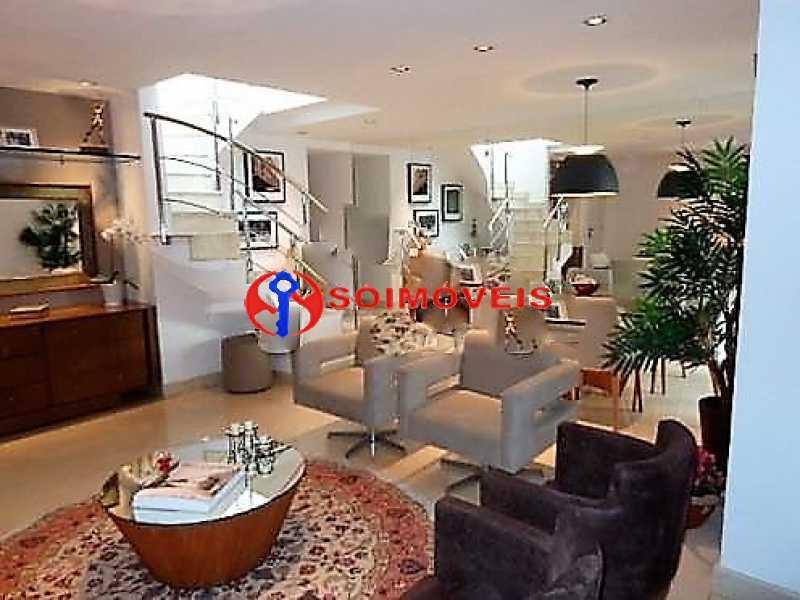02 - Cobertura 3 quartos à venda Rio de Janeiro,RJ - R$ 7.500.000 - LBCO30234 - 1