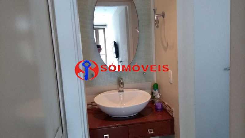 banheiro . - Flat 1 quarto à venda Rio de Janeiro,RJ - R$ 730.000 - LIFL10007 - 14