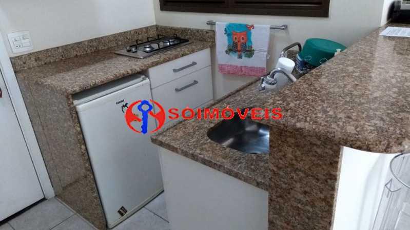 cozinha - Flat 1 quarto à venda Rio de Janeiro,RJ - R$ 730.000 - LIFL10007 - 12