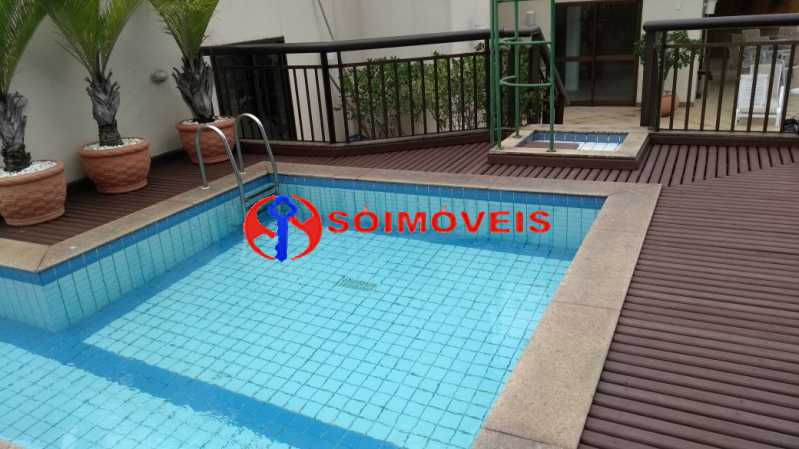 piscina . - Flat 1 quarto à venda Rio de Janeiro,RJ - R$ 730.000 - LIFL10007 - 20