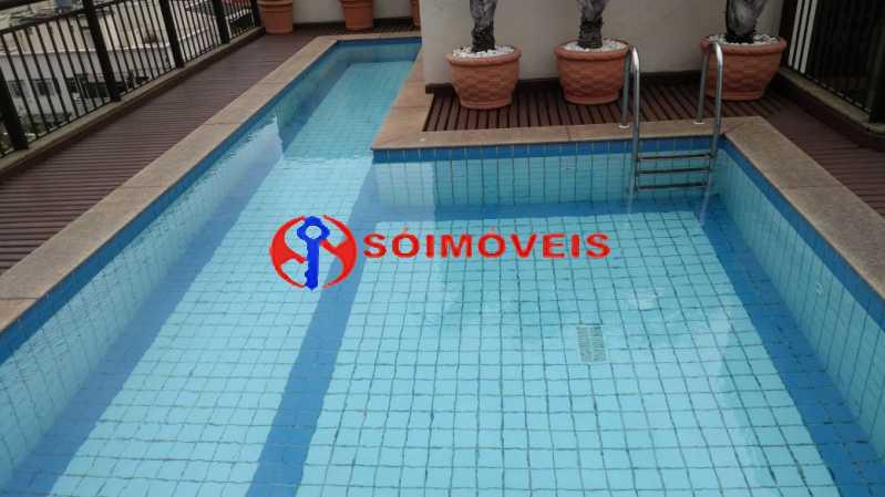 piscina - Flat 1 quarto à venda Rio de Janeiro,RJ - R$ 730.000 - LIFL10007 - 21