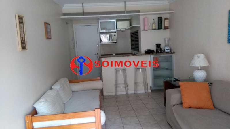 sala - Flat 1 quarto à venda Rio de Janeiro,RJ - R$ 730.000 - LIFL10007 - 3