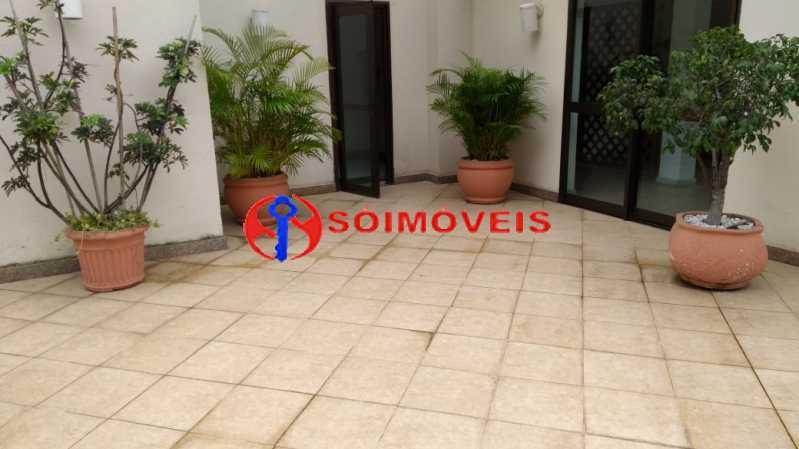terraço . - Flat 1 quarto à venda Rio de Janeiro,RJ - R$ 730.000 - LIFL10007 - 18