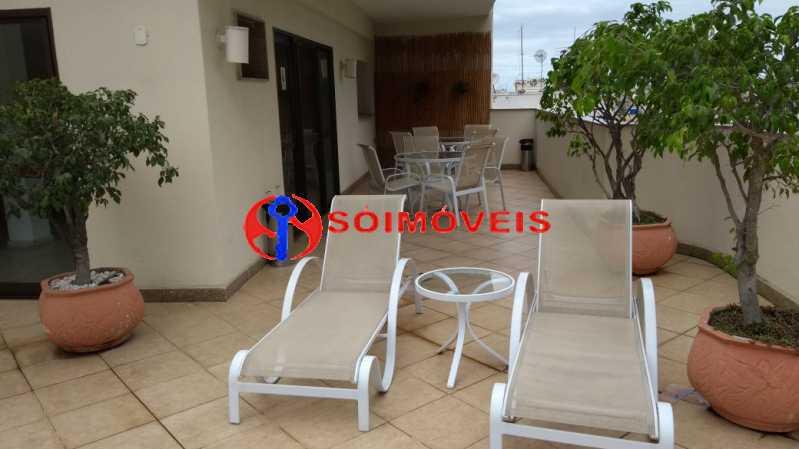 terraço - Flat 1 quarto à venda Rio de Janeiro,RJ - R$ 730.000 - LIFL10007 - 19