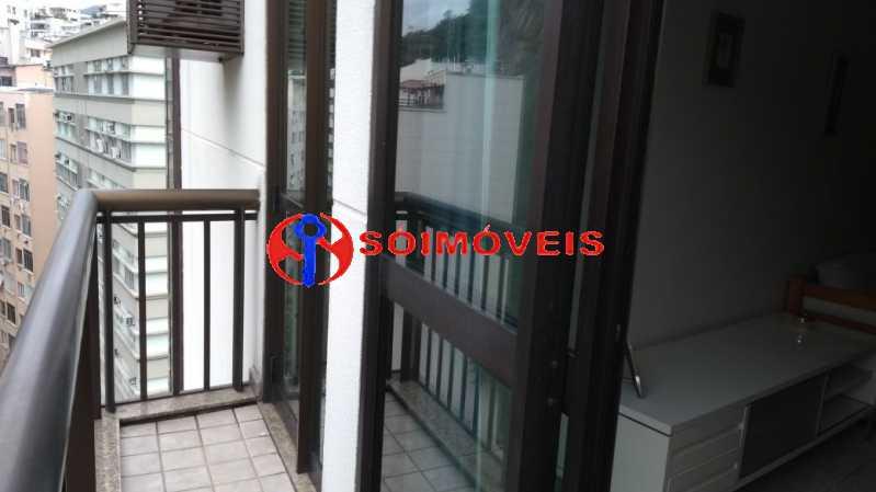 varanda - Flat 1 quarto à venda Rio de Janeiro,RJ - R$ 730.000 - LIFL10007 - 7
