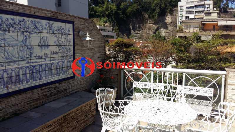 20170825_111811 - Cobertura duplex Rua Paissandú, sala, 3 quartos, terraço externo, 2 vagas. Vista Cristo, indevassável. - LBCO30249 - 5