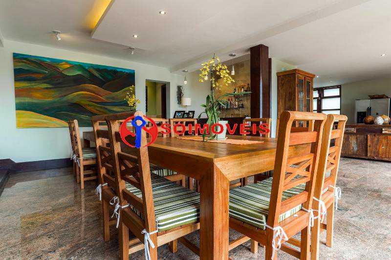 dining 1 - Casa 5 quartos à venda Rio de Janeiro,RJ - R$ 4.400.000 - LBCA50038 - 6