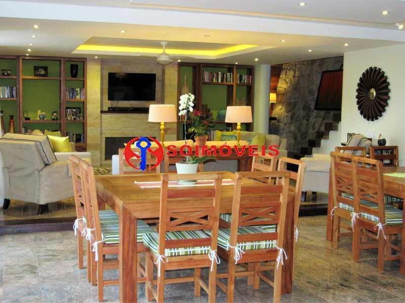 dining 2 - Casa 5 quartos à venda Rio de Janeiro,RJ - R$ 4.400.000 - LBCA50038 - 7