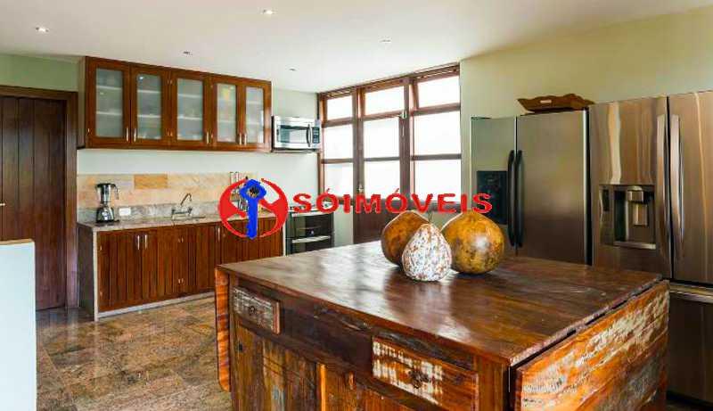kitchen 1 - Casa 5 quartos à venda Rio de Janeiro,RJ - R$ 4.400.000 - LBCA50038 - 24