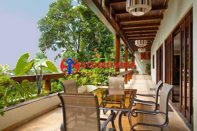 veranda 1 - Casa 5 quartos à venda Rio de Janeiro,RJ - R$ 4.400.000 - LBCA50038 - 9