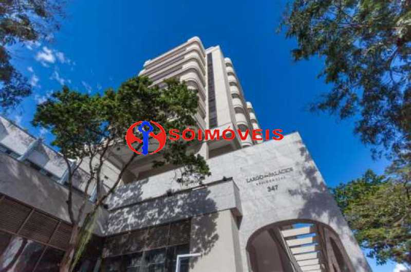 1 - Cobertura Linear em Botafogo, prédio novo, 3 suítes, varandão em U, churrasqueira e piscina, vista verde e Cristo, 232m², 2 vagas na escritura. Total infra. - LBCO30306 - 20