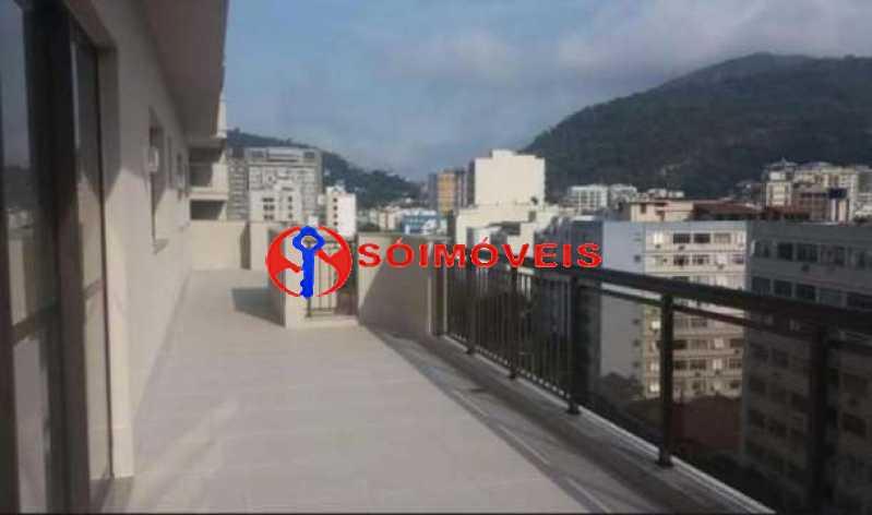 20 - Cobertura Linear em Botafogo, prédio novo, 3 suítes, varandão em U, churrasqueira e piscina, vista verde e Cristo, 232m², 2 vagas na escritura. Total infra. - LBCO30306 - 12