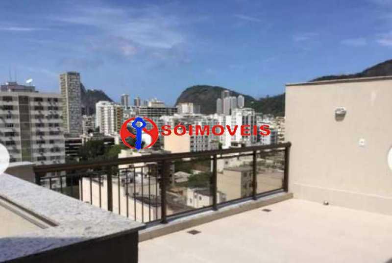 25 - Cobertura Linear em Botafogo, prédio novo, 3 suítes, varandão em U, churrasqueira e piscina, vista verde e Cristo, 232m², 2 vagas na escritura. Total infra. - LBCO30306 - 5