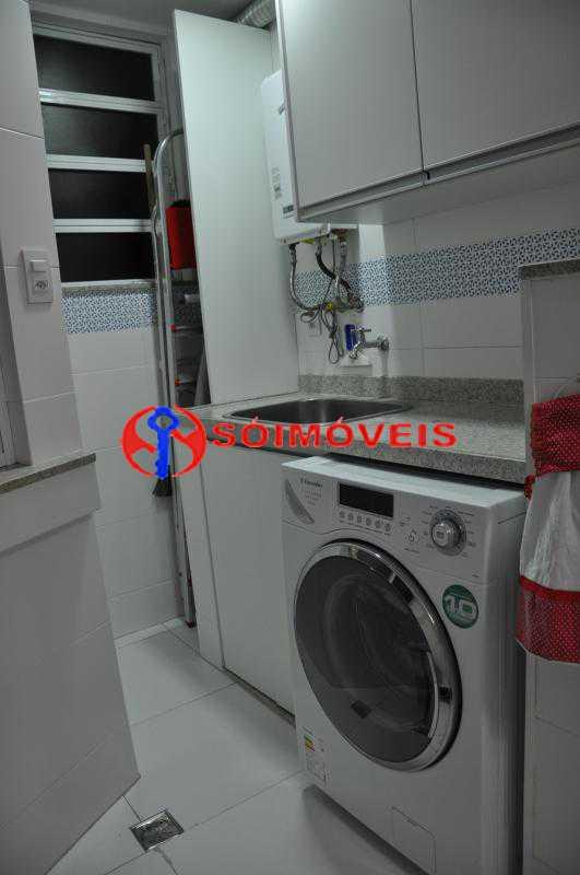 Area_Servico - Apartamento 2 quartos à venda Humaitá, Rio de Janeiro - R$ 750.000 - LBAP22558 - 1
