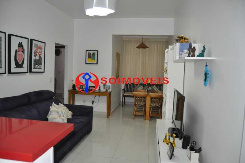 Sala_01 - Apartamento 2 quartos à venda Humaitá, Rio de Janeiro - R$ 750.000 - LBAP22558 - 16