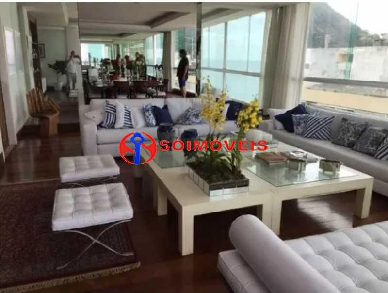 3 - Cobertura 6 quartos à venda Rio de Janeiro,RJ - R$ 17.500.000 - LBCO60019 - 6