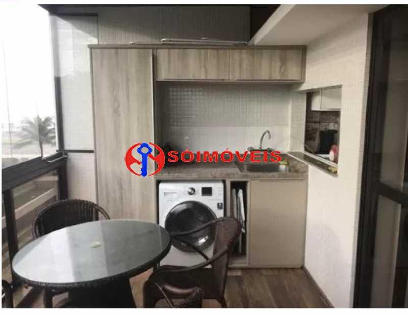 3 - Flat 1 quarto à venda Rio de Janeiro,RJ - R$ 800.000 - LBFL10133 - 5