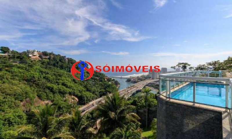 JJ1 - No Joá, espetacular residência de três andares com vista panorâmica para todo o mar da Joatinga. - LBCN40041 - 1